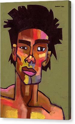 Likes To Party Canvas Print by Douglas Simonson