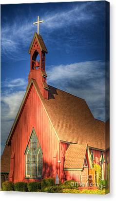 Lil' Church On The Pray're Canvas Print