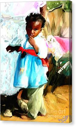Lil Girl  Canvas Print