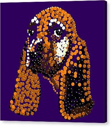 Li'l Jill Bedazzled Canvas Print by R  Allen Swezey