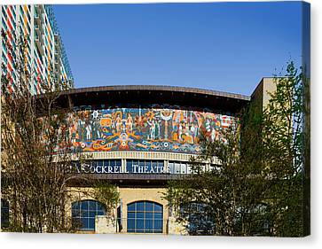 Lila Cockrell Theatre - San Antonio Canvas Print