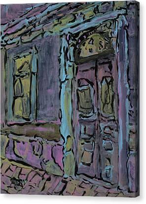 Lilac House  Canvas Print