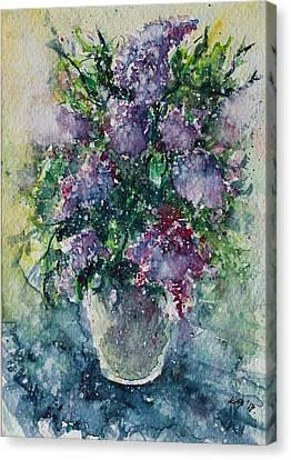 Lilac Canvas Print by Kovacs Anna Brigitta