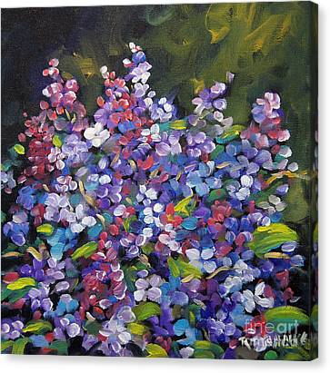 Lilac_burst_by_prankearts Canvas Print by Richard T Pranke