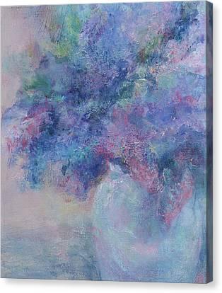 Lilacs Canvas Print by Laurie VanBalen