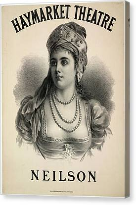 Lilian Adelaide Neilson Canvas Print by British Library