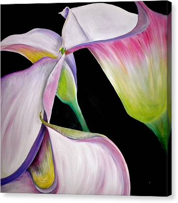 Debi Pople Canvas Print - Lilies by Debi Starr