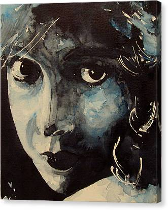 Lillian Gish  Canvas Print by Paul Lovering