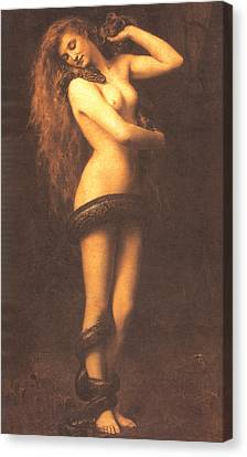 Lilth Canvas Print by John Collier