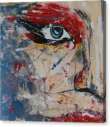 Liluye Canvas Print by Lucy Matta