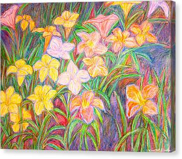Lily Glow Canvas Print by Kendall Kessler