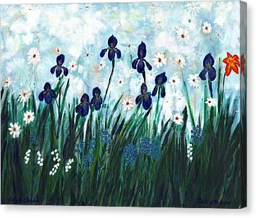 Lily's Garden Canvas Print