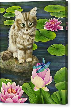 Lilys Pond Canvas Print