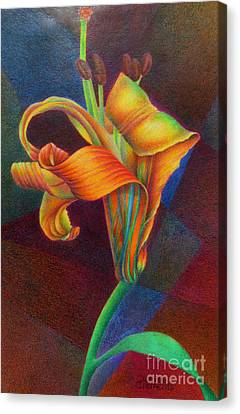 Lily's Rainbow Canvas Print