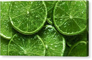 Limes Canvas Print by David Blank