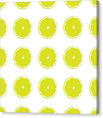Limes Canvas Print by Jocelyn Friis
