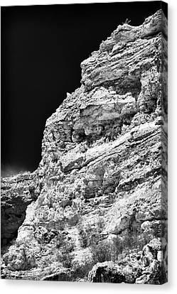 Limestone Canvas Print by John Rizzuto