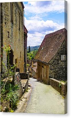 Canvas Print featuring the photograph Limeuil En Perigord - France by Dany Lison