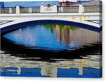 Sean Heuston Dublin Bridge Canvas Print