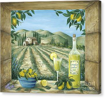 Rural Landscapes Canvas Print - Limoncello by Marilyn Dunlap