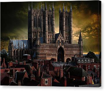 Lincoln Cathedral Canvas Print by Martin Billings