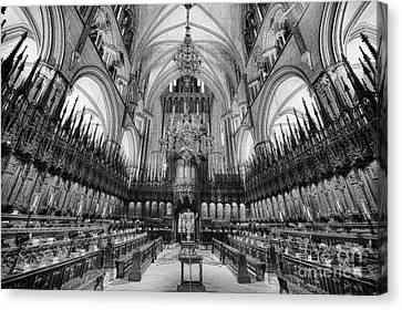 Lincoln Cathedral The Choir II Canvas Print by Jack Torcello