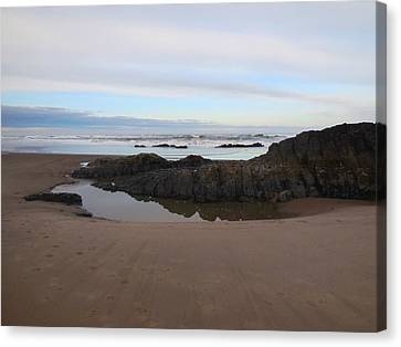 Lincoln City Beach Canvas Print