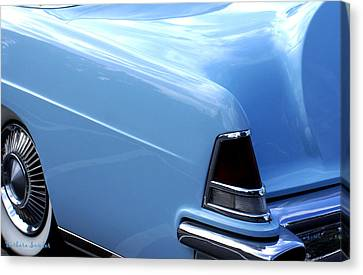 Lincoln Continental  Canvas Print by Barbara Snyder