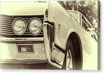 Lincoln Continental Canvas Print by Joan Carroll
