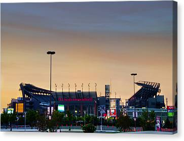 Lincoln Financial Field In A New Light Canvas Print by Bill Cannon