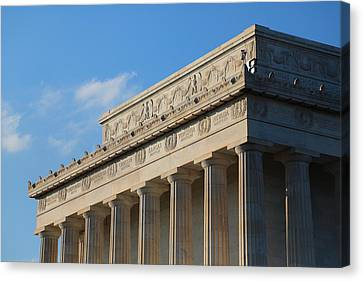 Lincoln Memorial - The Details Canvas Print