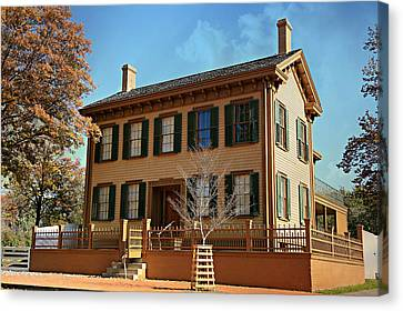 Historic Site Canvas Print - Lincoln's Home -- Springfield by Stephen Stookey