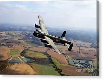 Lincolnshire Bomber  Canvas Print