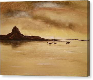 Lindisfarne Castle Holy Island England Canvas Print