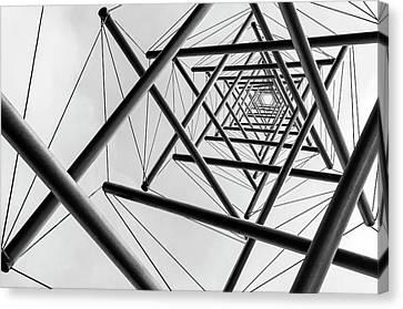 Pov Canvas Print - Lines by Carla Vermeend