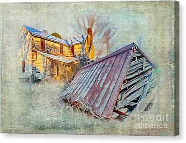 Lingering Memories Canvas Print by Dan Carmichael
