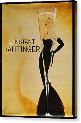 L'instant Taittinger Canvas Print