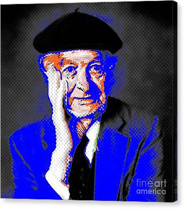 Linus Pauling Canvas Print by Gerhardt Isringhaus