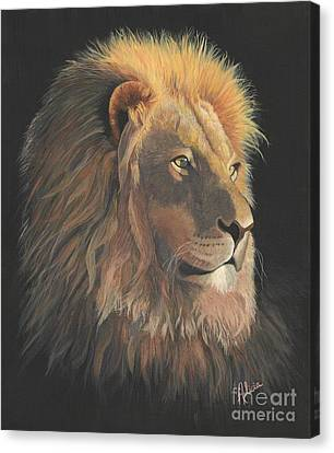 Lion Of Judah Canvas Print by Alicia  Fowler