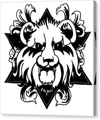 Lion Of Judah Canvas Print by Marvin Barham