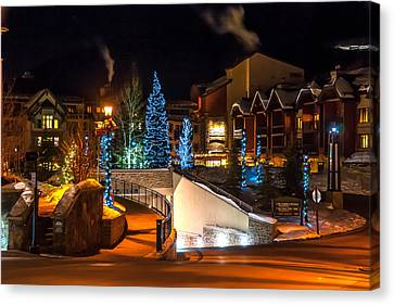 Lions Head Village Vail Colorado Canvas Print