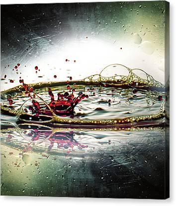 Liquid Dance Canvas Print