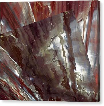Liquid Steel Canvas Print