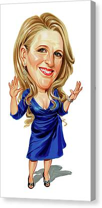 Lisa Lampanelli Canvas Print