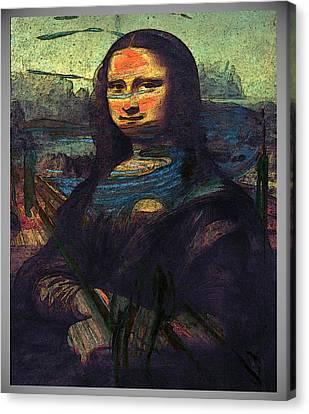 Lisa Munch Scream  Canvas Print