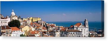 Lisbon, Cityscape, Skyline, Portugal Canvas Print by Panoramic Images