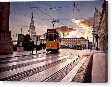 Lisbon Light Canvas Print