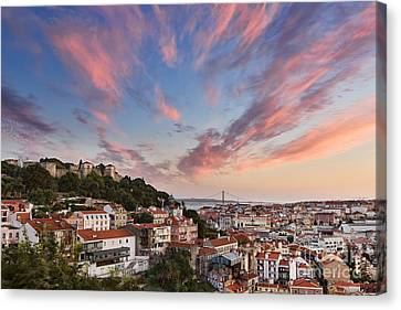 Lisbon Canvas Print by Rod McLean