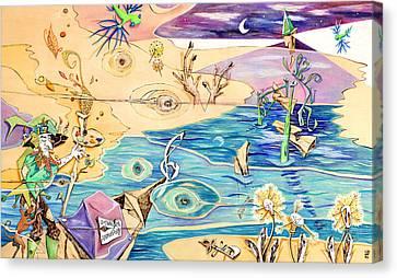 L'isola Che C'e - Poveglia Per Tutti Canvas Print by Arte Venezia