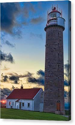Lista Lighthouse Canvas Print by Kenneth Gjesdal